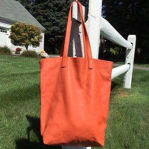 Baggu Basic Leather Tote Bag *AS IS*